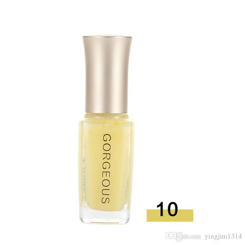 Nail Art Pen vernis um Semi transparente prego Jelly Gel Polish ongle Longa Duração Nature Cor Brilhante