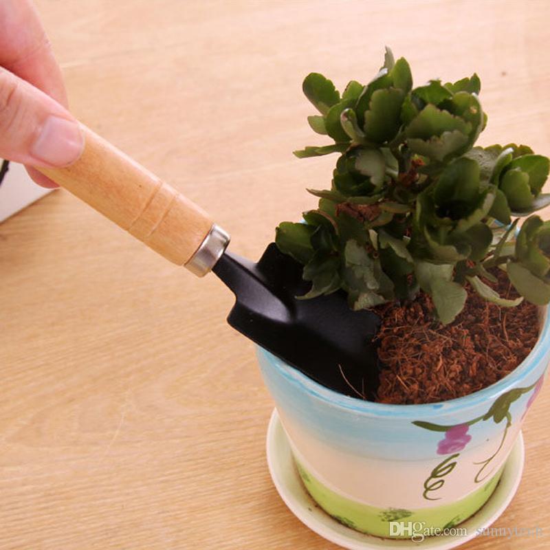 New Creative Gardening Tools Three Piece Mini Garden tools Small Shovel rake Spade Potted Plant Flowers LZ1541