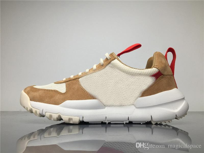 online store 8602e 83c8a Hottest Tom Sachs X Craft Mars Yard 2.0 TS Joint Limited Sneaker Top  Quality Natural Sport Red Maple Running Shoes With Original Box Tom Sachs  Joint Limited ...