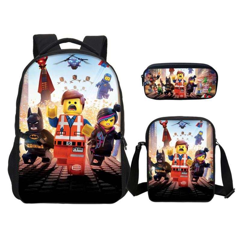 78e625a59 Acquista Lego Kids Cartoon School Backpack Zaini Ragazzi Lego Ninjago  Pattern School Pen Shoulder Bag Zaini Bambini A $34.41 Dal Allinbag |  DHgate.Com