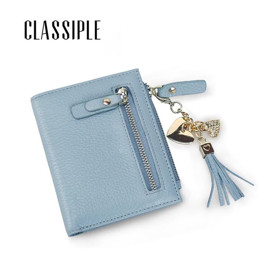 b70637cc8df3 Tassel Wallet Female Hasp Womens Small Wallets Simple Purses Women Short  Cow Leather Thin Wallet Fashion Ladies Cion Purses Slim Small Wallets  Wallet Purse ...