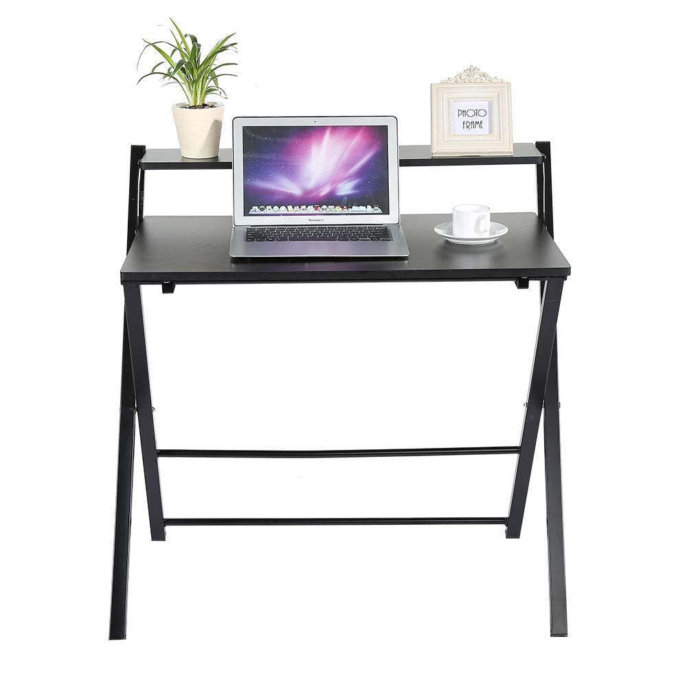 2018 Wood Computer Modern Wooden Folding Table Furniture Children Study Desk For Kids Foldable Compact Laptop From Home Furnishing88