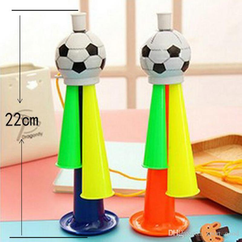 New World Cup Fan Horn Cheerleading Essential Bugle Competions Bar Party Football Horn Horn Kids Toy Horns para la venta