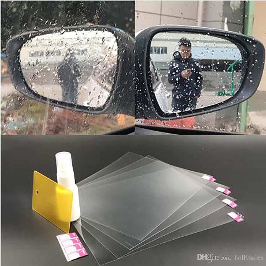 New Tech Anti Fog Anti Glare Car Rearview Mirror Film Cover