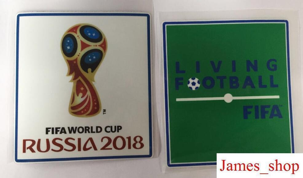 Compre Patches De Qualidade Superior Rússia 2018 Copa Do Mundo Patch De  Futebol De Futebol Patches De Futebol Emblemas Remendo Flocking Campeões  Respeito ... 47e9ba2f5a799