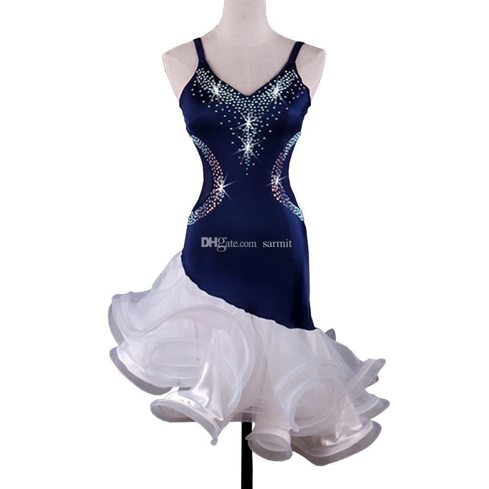 Latin Dance Dress Women CHEAPEST Salsa Dance Wear Lyrical Dance ...