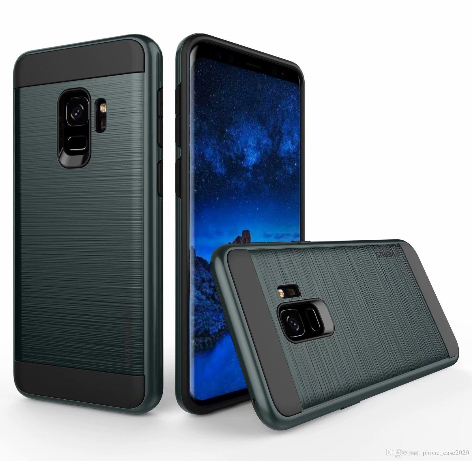 Hüllen Selbst Gestalten Slim 2in1 Hybrid Brushed Rüstung Fall Für Samsung Galaxy J6 2018 J4 J8 J2 Pro J730 J530 J330 J7 Prime Handy Hüller Selbst Gestalten