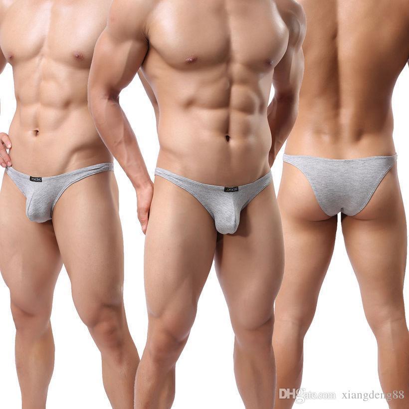 Sexy Mens Mini G-string Mémoires Sous-Vêtements Modal Lingerie Fétiche Bulge Poche Jockstrap Slip Low Rise Slip