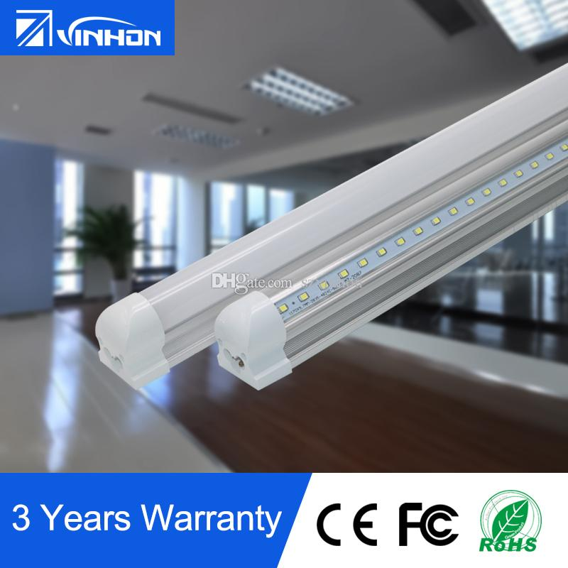 V Shaped Led Tube Light 8ft T8 Integrated Led Tube Light Cooler Door ...