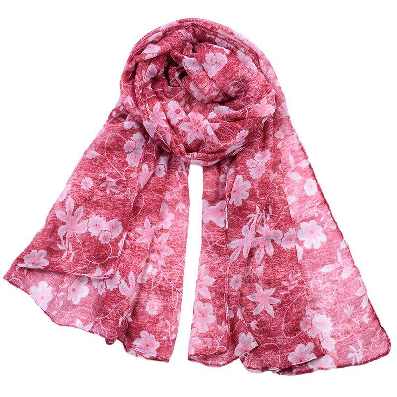 87b58ad10a6 Acheter 2018 Foulards Wraps Pour Femmes Châles Foulard Imprimé Echarpe  Foulard Femme Femmes Écharpes Châle Tête Hijab Nouveau Design Marque De  Luxe De ...