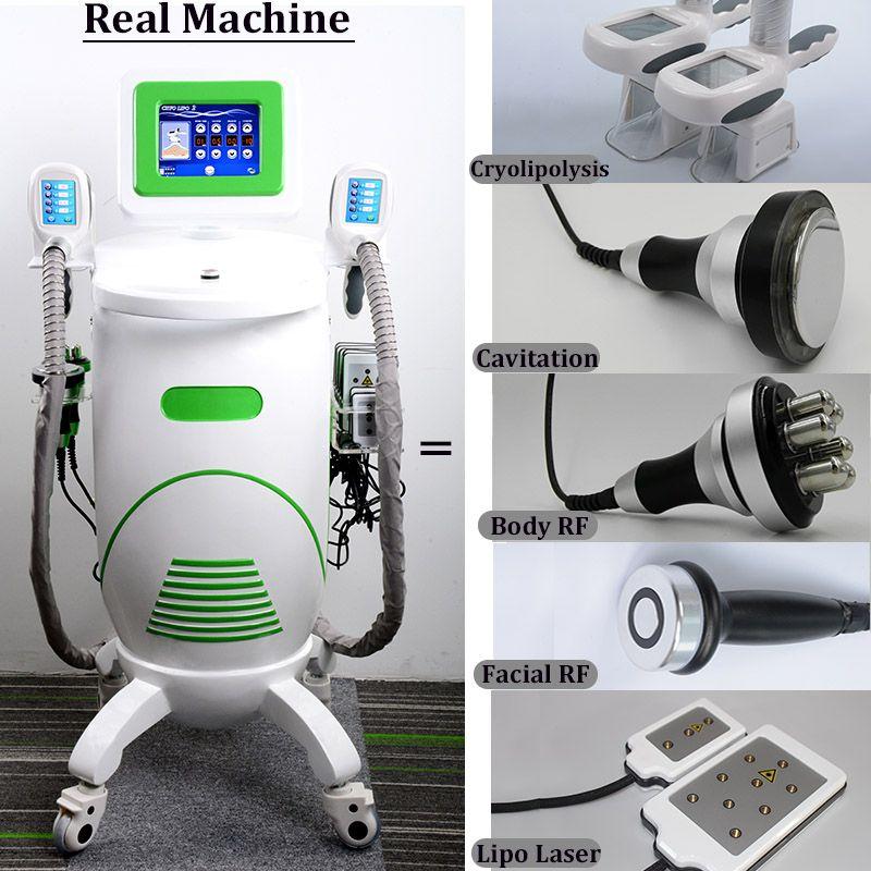2020 New Cryolipolysis Fat Freezing Machine Profession Cryotherapy Slimming Cavitation Rf Vacuum Fat Removal Anti Cellulite Machine On Sale