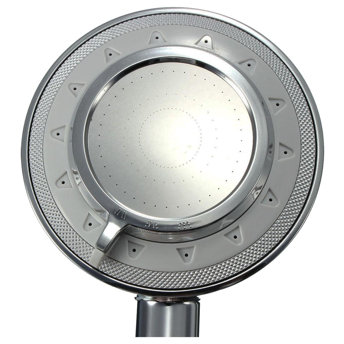 Square 3 Features Removable Shower Head
