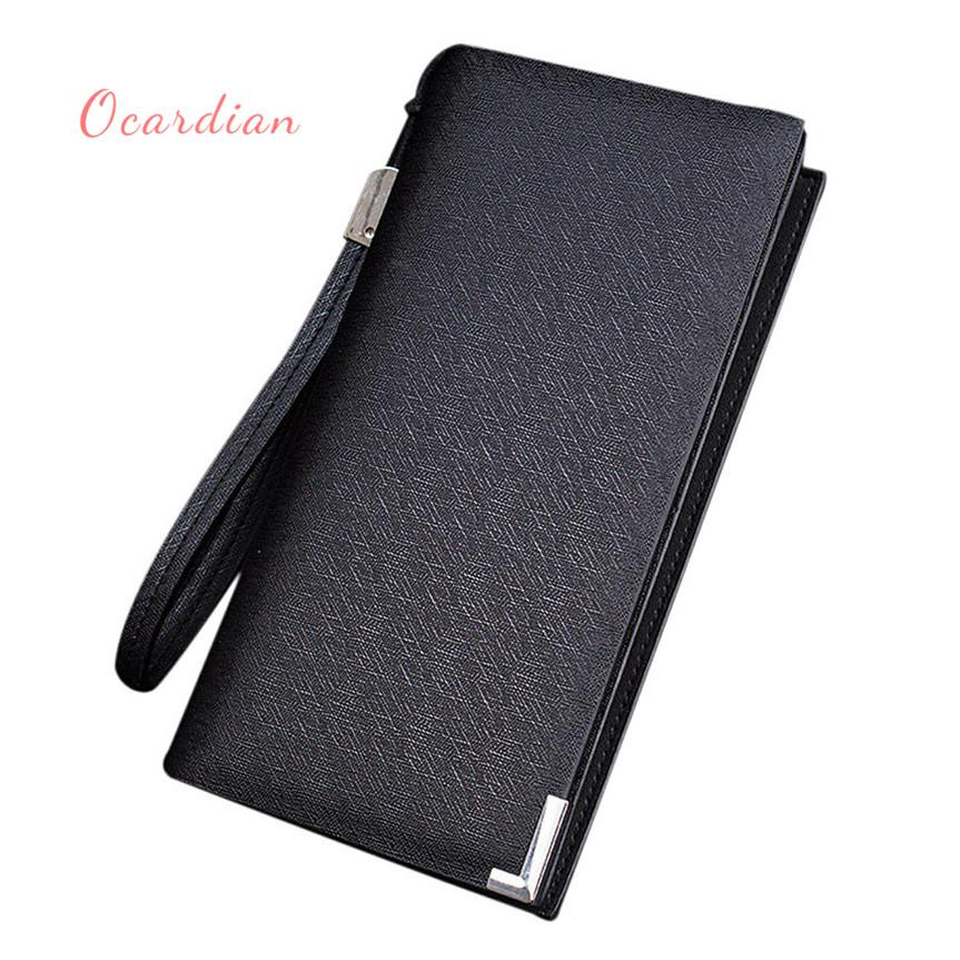 d76e6640c OCARDIAN Monedero Mujer Luxury Men Leather Card Cash Receipt Holder  Organizer Bifold Wallet Purse Casual A1009#25 Kids Wallet Branded Wallets  For Men From ...