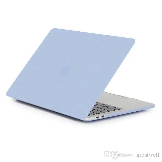 For Macbook 11.6 12 13.3 15.4 Air Pro Retina Rubberized Matte Hard Case Full Protective Cover Case