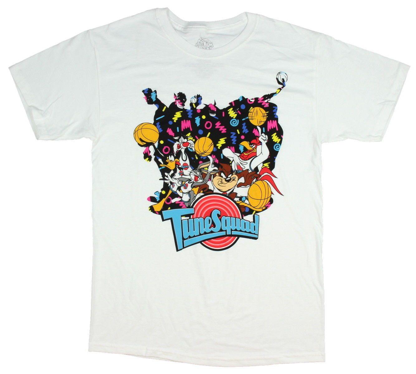 HombreMediana Jam Squad Tune Póster Camiseta Para Space Looney De Tunes OuliwPXTkZ