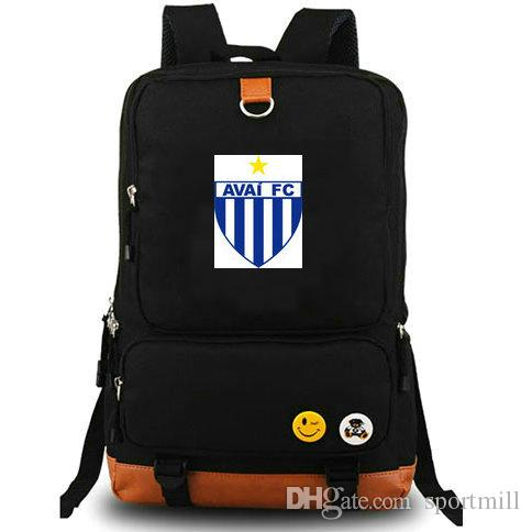Avai Backpack FC Florianopolis SC School Bag Football Club Daypack ... 4d3f6090711bf