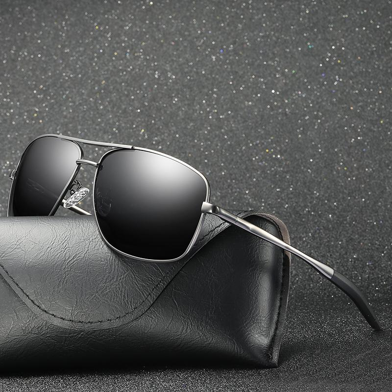 Compre 2018 Novos Homens Rodada Rosto Olhos Polarizados Óculos De Sol Óculos  De Sol Condução Motorista Óculos De Condução Espelho De Rã Visão Noturna De  ... f13176e1f7