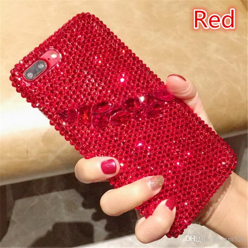 New Design Luxury Flash Powder Crystal Diamond cover case for IPhone /Samsung /Huawei/Xiaomi case