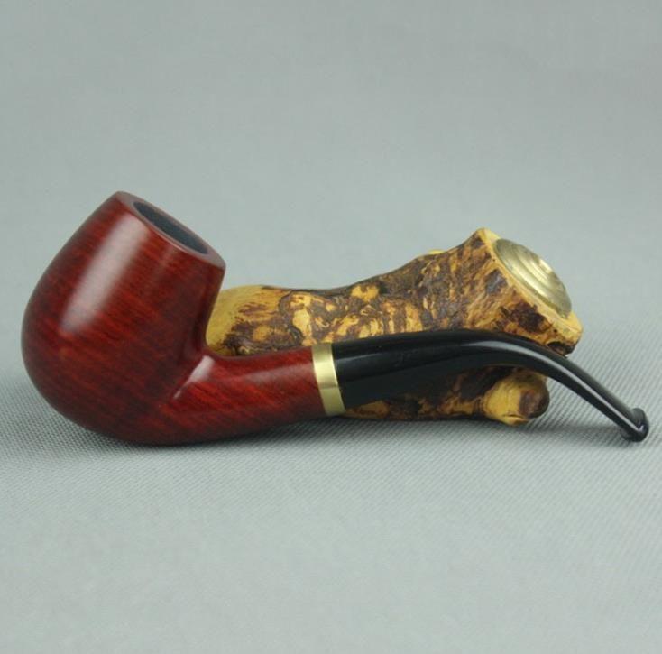 Kırmızı sandal ağacı 9mm filtre boru bükme tipi ayrılabilir ahşap boru çekiç