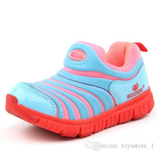 2018 New Kids Air Sneakers Shoes For Boys Grils Authentic All White Children's Trainers Huaraches Sport Running Shoes Size 21-30