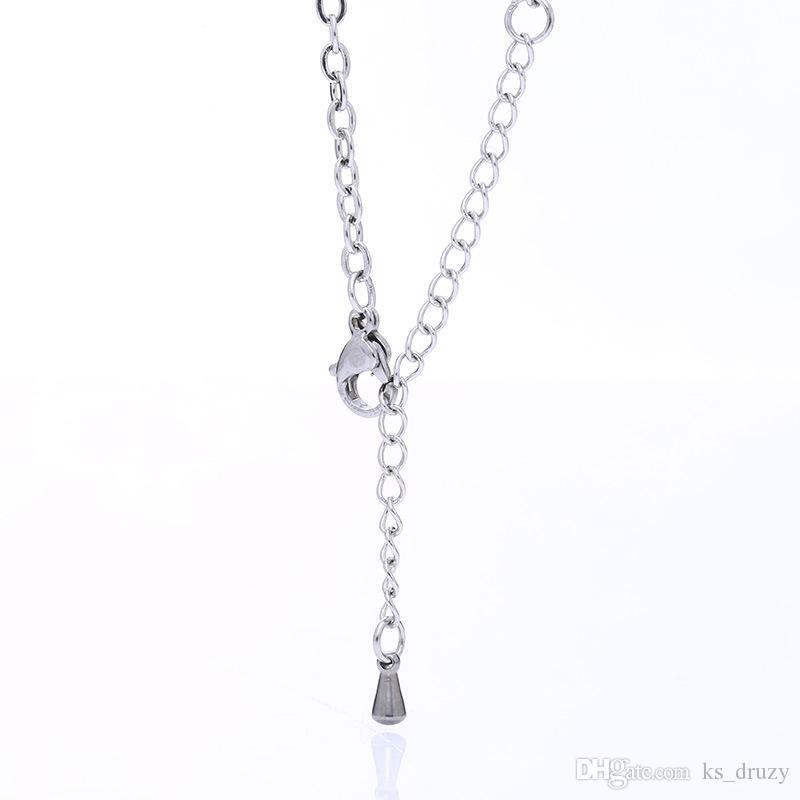 Мода Браслет из нержавеющей стали четыре листа соломы Клевер прелести браслеты для женщин любитель ювелирных изделий партии хороший подарок