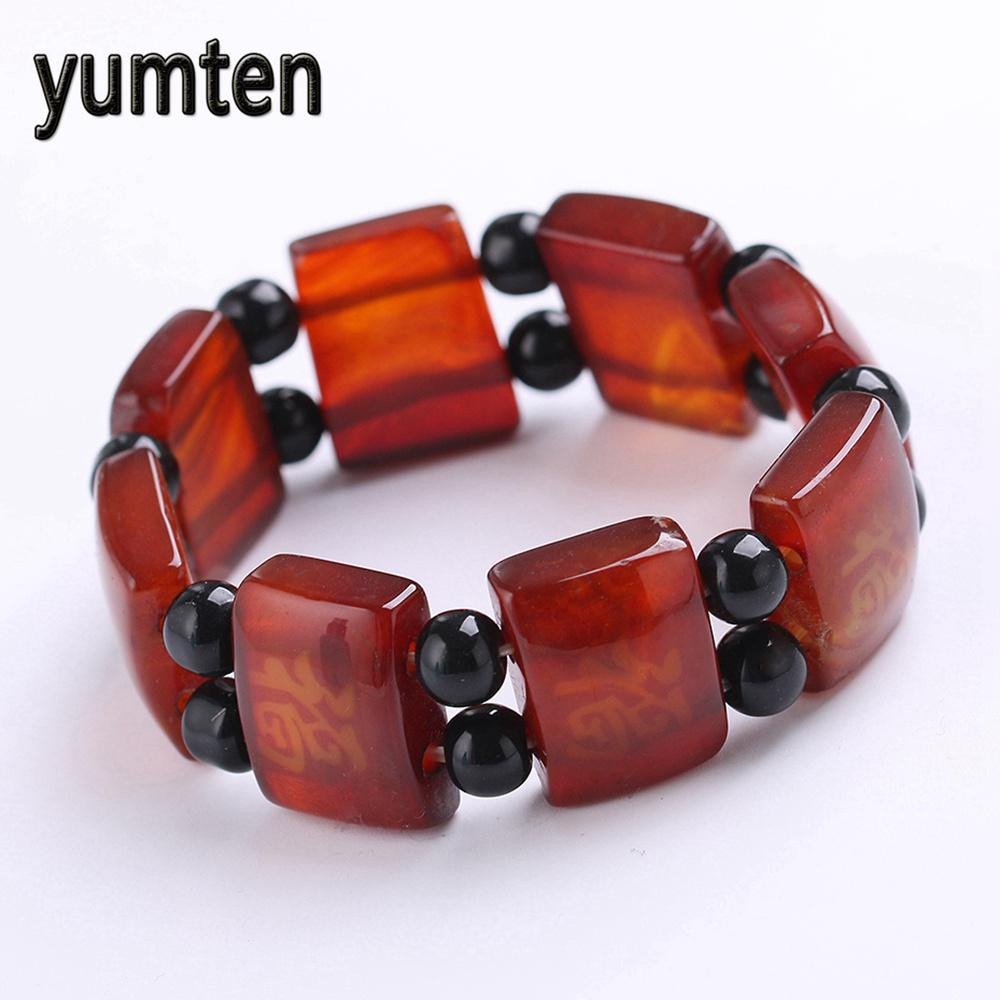 2019 Yumten Men S Bracelet Old Agate Fashion Accessories Popular