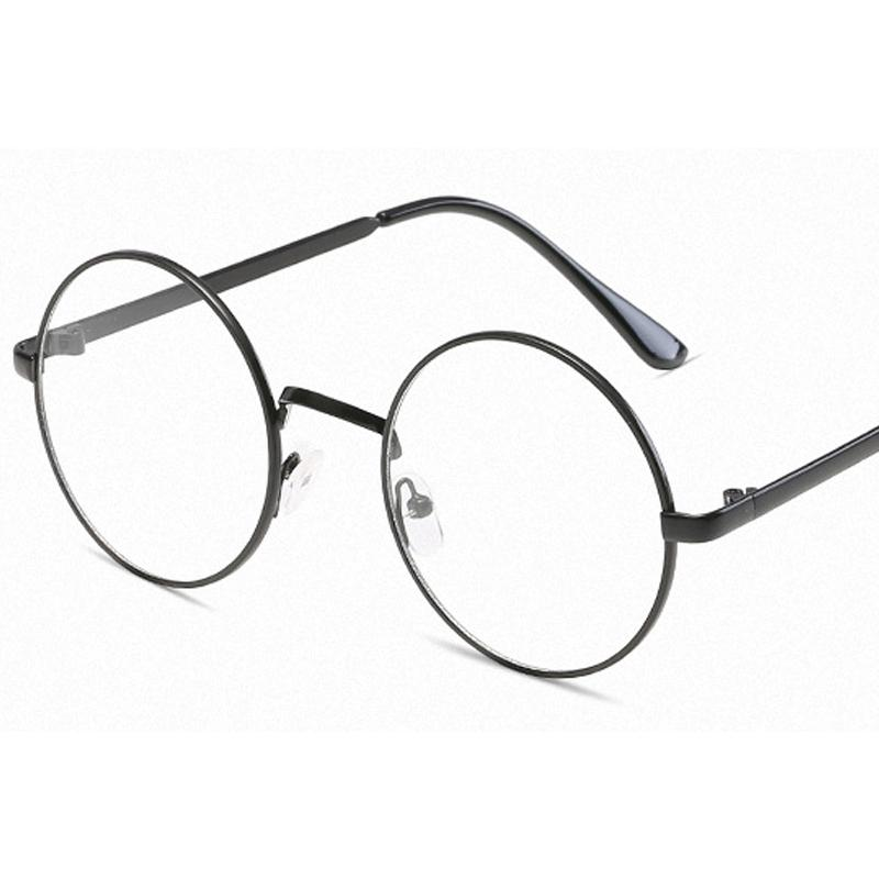 fc7c0bba445 2019 2018 New Women Round Glasses Frames Glasses With Clear Lens Men  Optical Spectacle Frame Transparent For From Watercup