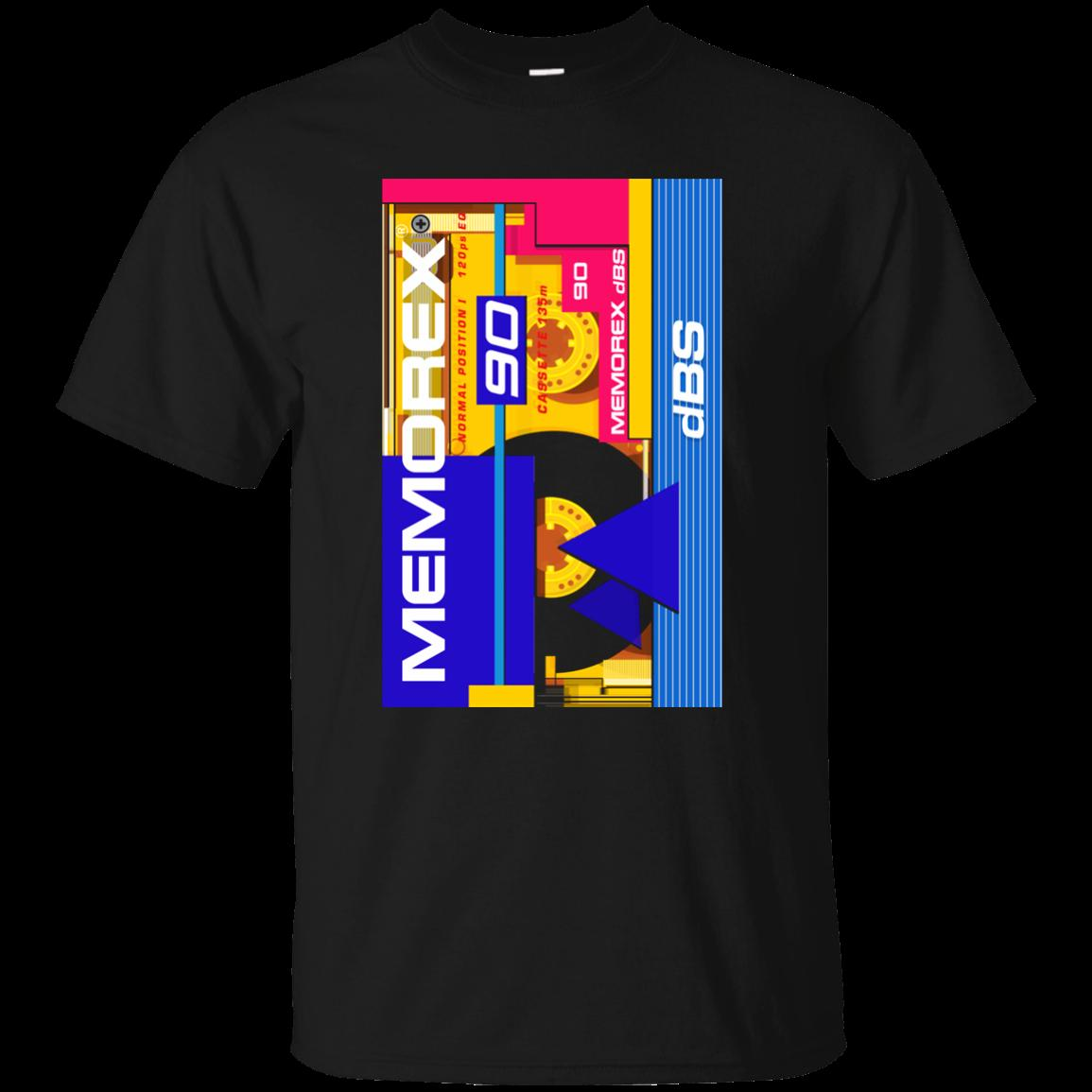 Cassette Memorex Dbs Retro Walkman Eighties Tape Mix Dj Old Schoo Cool Casual Pride T Shirt Men Business Tees From Designtshirts