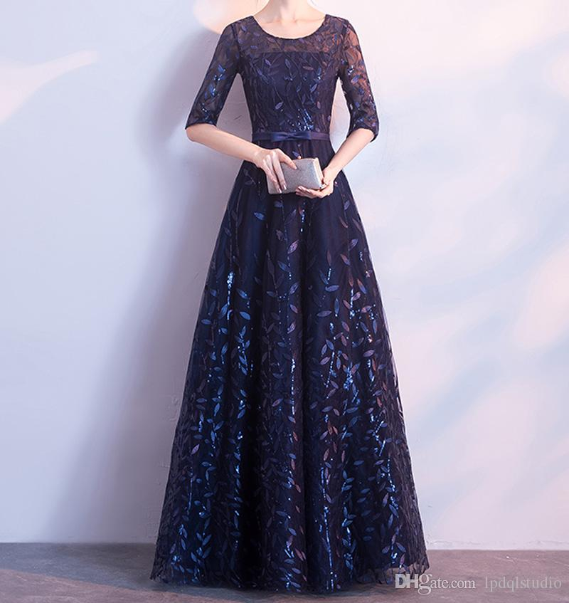 Stunning Mother Of The Bride Dresses: Stunning Dark Navy Mother Of The Bride Dresses Shining