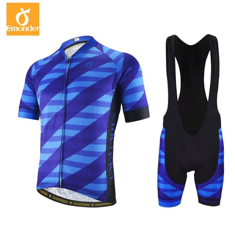50c3189fe EMONDER Mens High Quality Cycling Jersey And Bib Shorts Lightweight ...