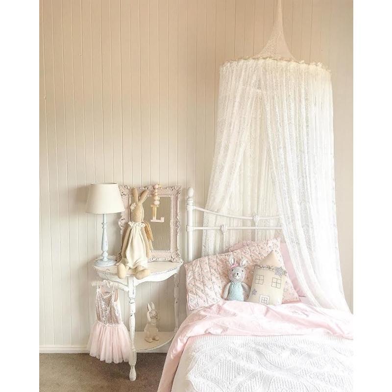 Newborn Mosquito Net Baby Sweet Lace Crib Net Infant Bed Netting