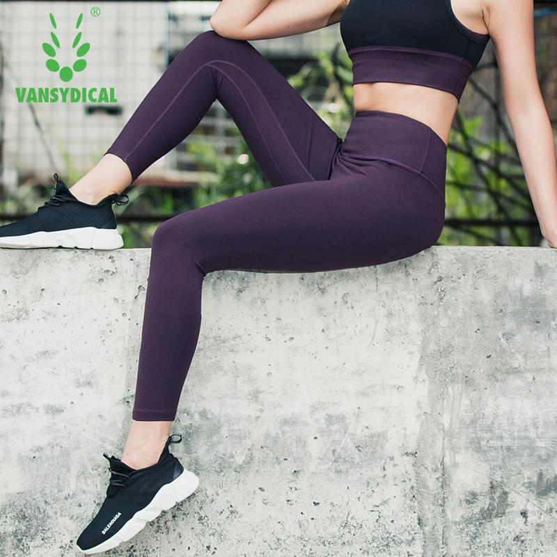 e78b37cdcc 2019 Women'S Compression Running Tights High Waist Yoga Leggings Female  Fitness Dance Stretch Pants From Shanquanwat, $37.53 | DHgate.Com