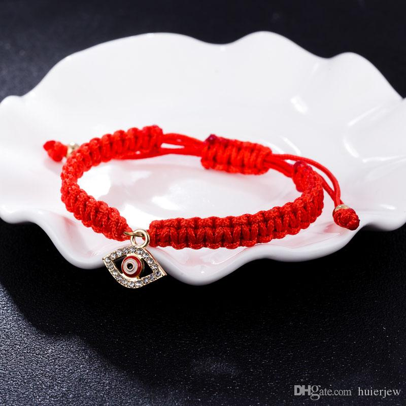 Red String Bracelet Evil Eye, Red String Of Fate, Good Luck Bracelet, Amulet, Thread Bracelet, Protection Bracelet