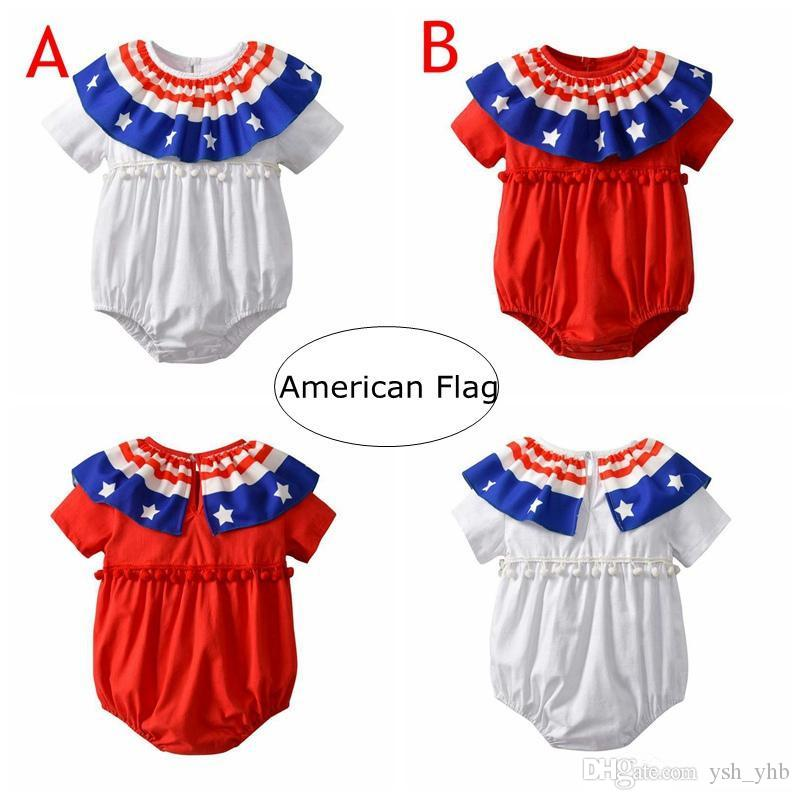 4344caf00 2018 Toddler Girls Rompers Hot Sale New Summer Baby Kids Cotton ...