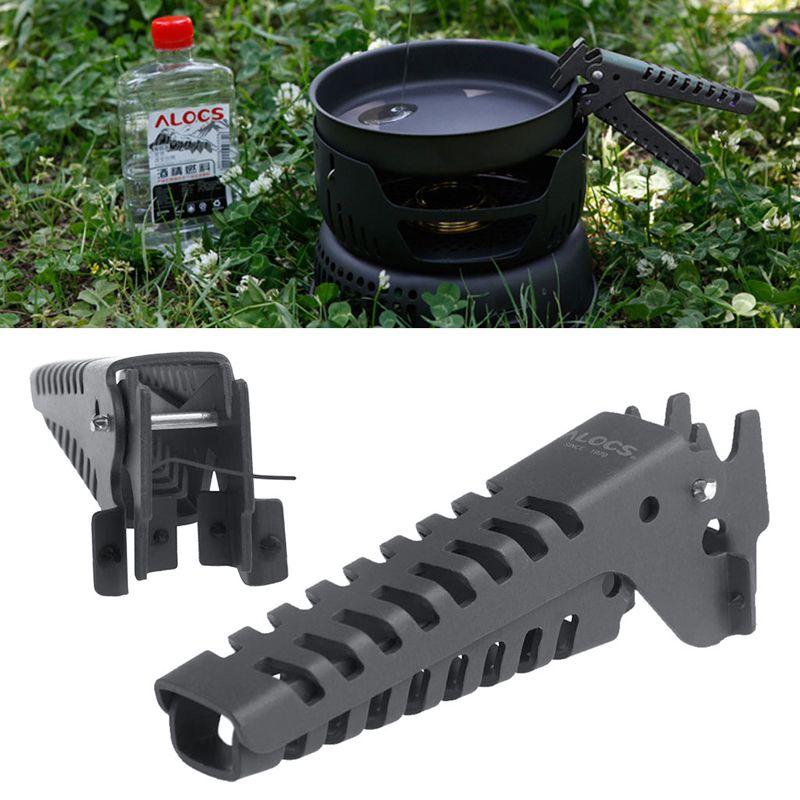 Camping Pot Pan Gripper Handle Bowl Gripper Outdoor Anti-hot Pot Pan Arm Hold FJ