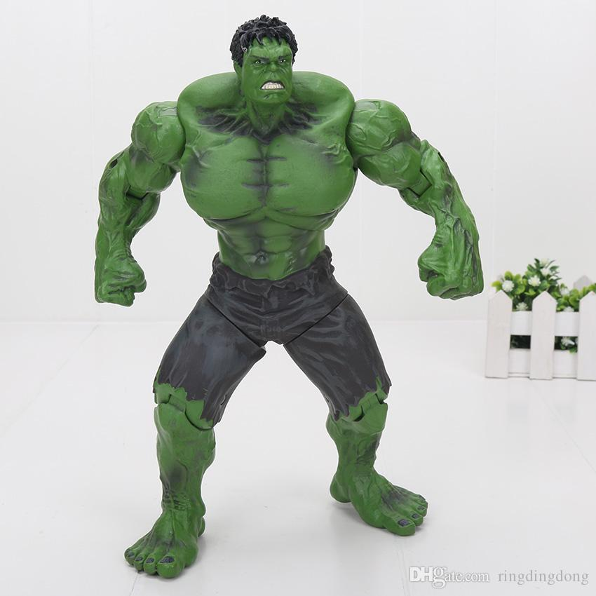"""Red Hulk 10"""" 26cm Action Figure The Avengers PVC Figure Toy Hands Adjusted Movie Lovers Collection"""