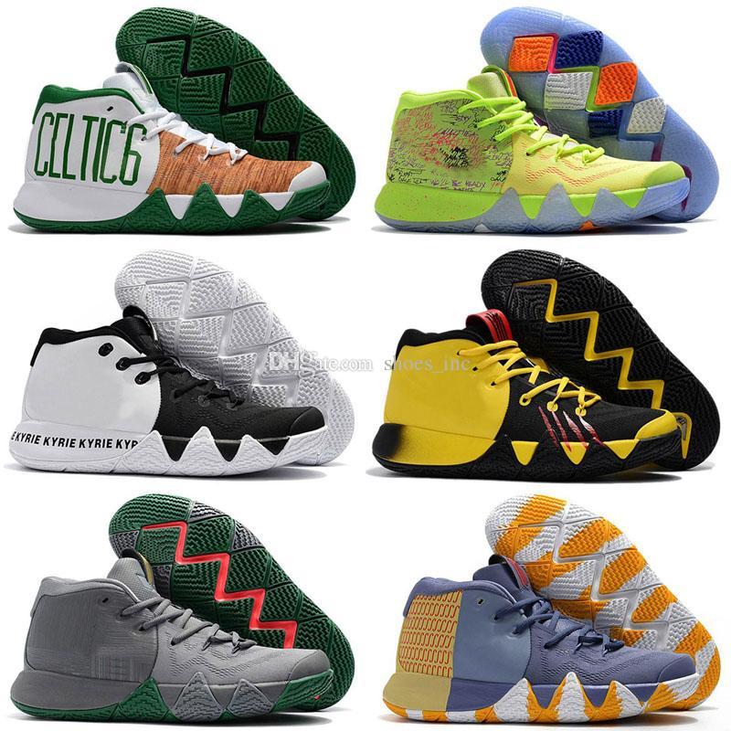 new style 27825 6d3d0 Großhandel 2018 Herren Wanderweg Walking Sneaker Was Die Irving 4 Billig  Auf Verkauf Basketball Schuhe März Madness 4s Multicolor Sport Turnschuhe  Von ...