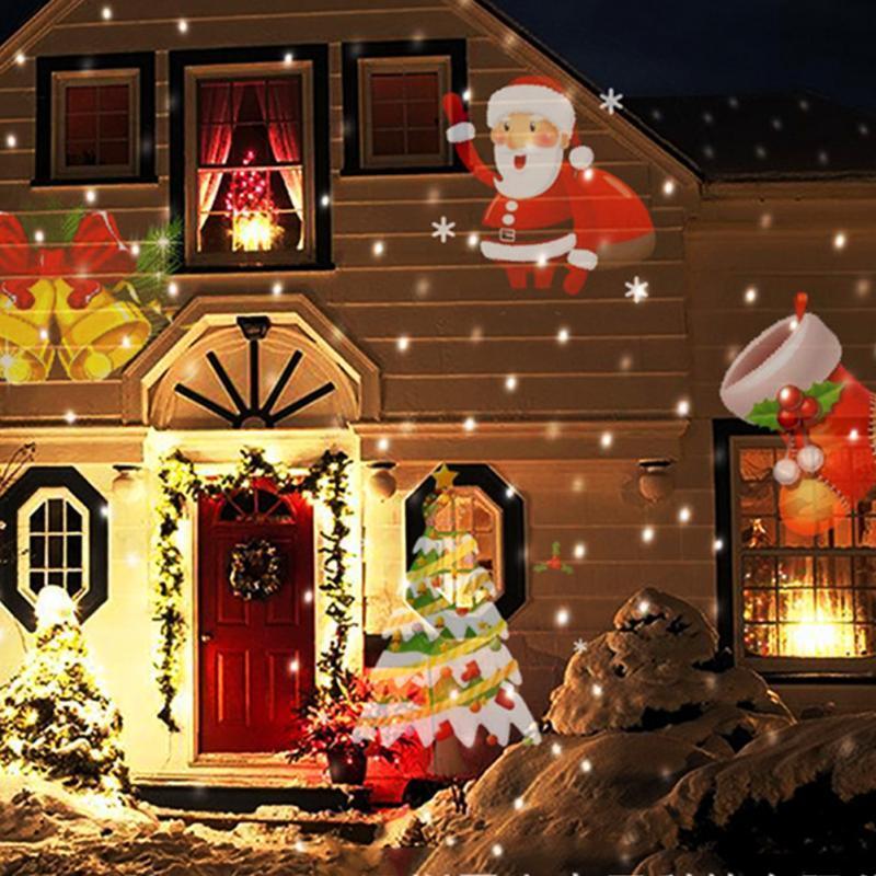 Großhandel Weihnachten Led Projektor Lichter Dekoration Bewegung ...
