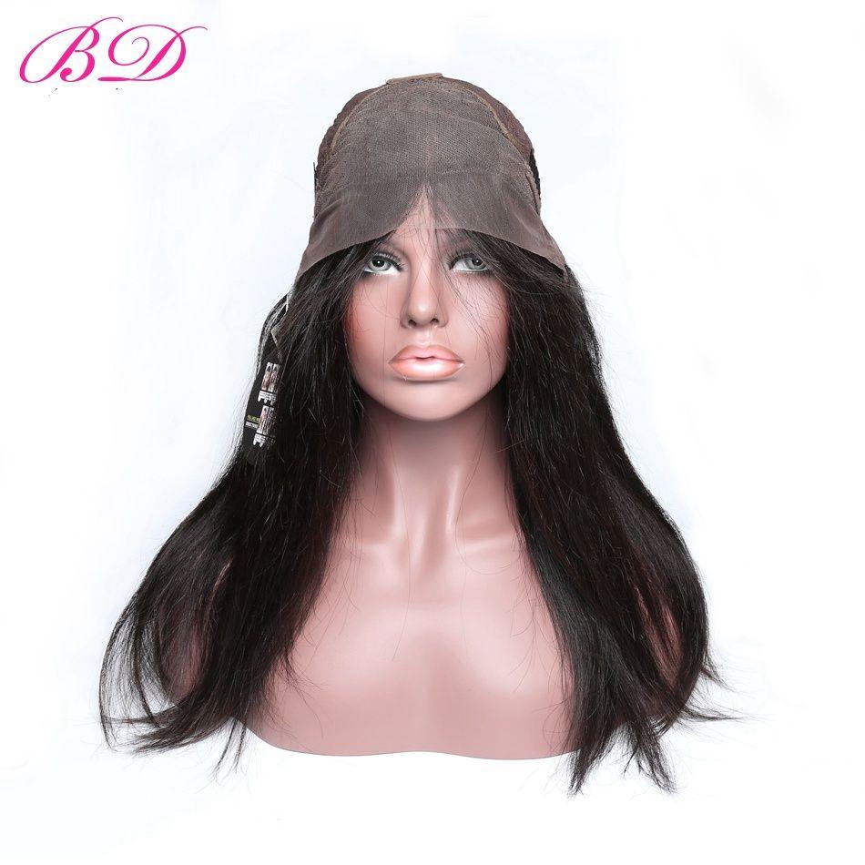 Parrucche anteriori del merletto dei capelli umani del Virgin dei capelli del virgin del BD pre pizzicate con il prodotto 150% di capelli del bambino