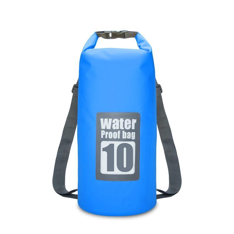 4d7e2d0d26bd 5L 10L Swimming Waterproof Bags Storage Dry Sack Bag For Canoe Kayak  Rafting Outdoor Sport Bags Travel Kit Equipment 2018
