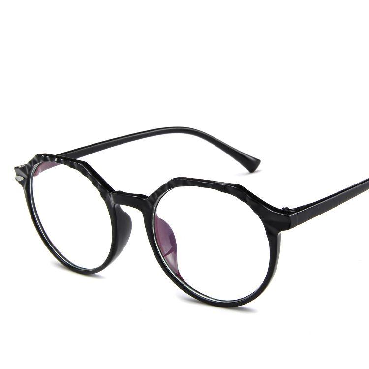 03bee33253 Designer Steampunk Eyeglasses Glasses Plastic Men Cat 4 Eyewear Half ...