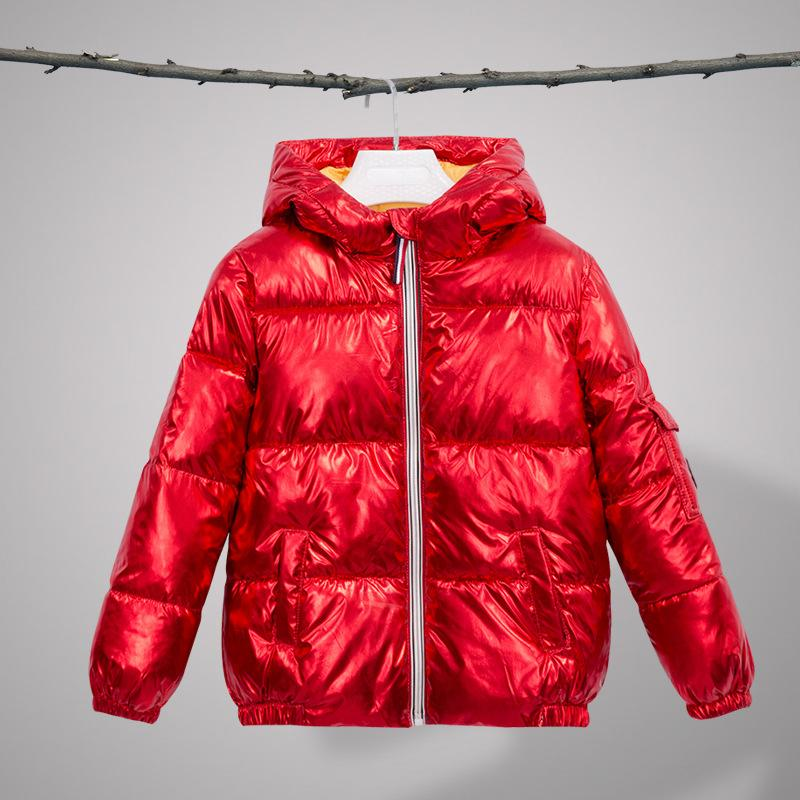 6acd61ae7 Children Winter Coats For Girls Outerwear Hot Stamping Thick White ...