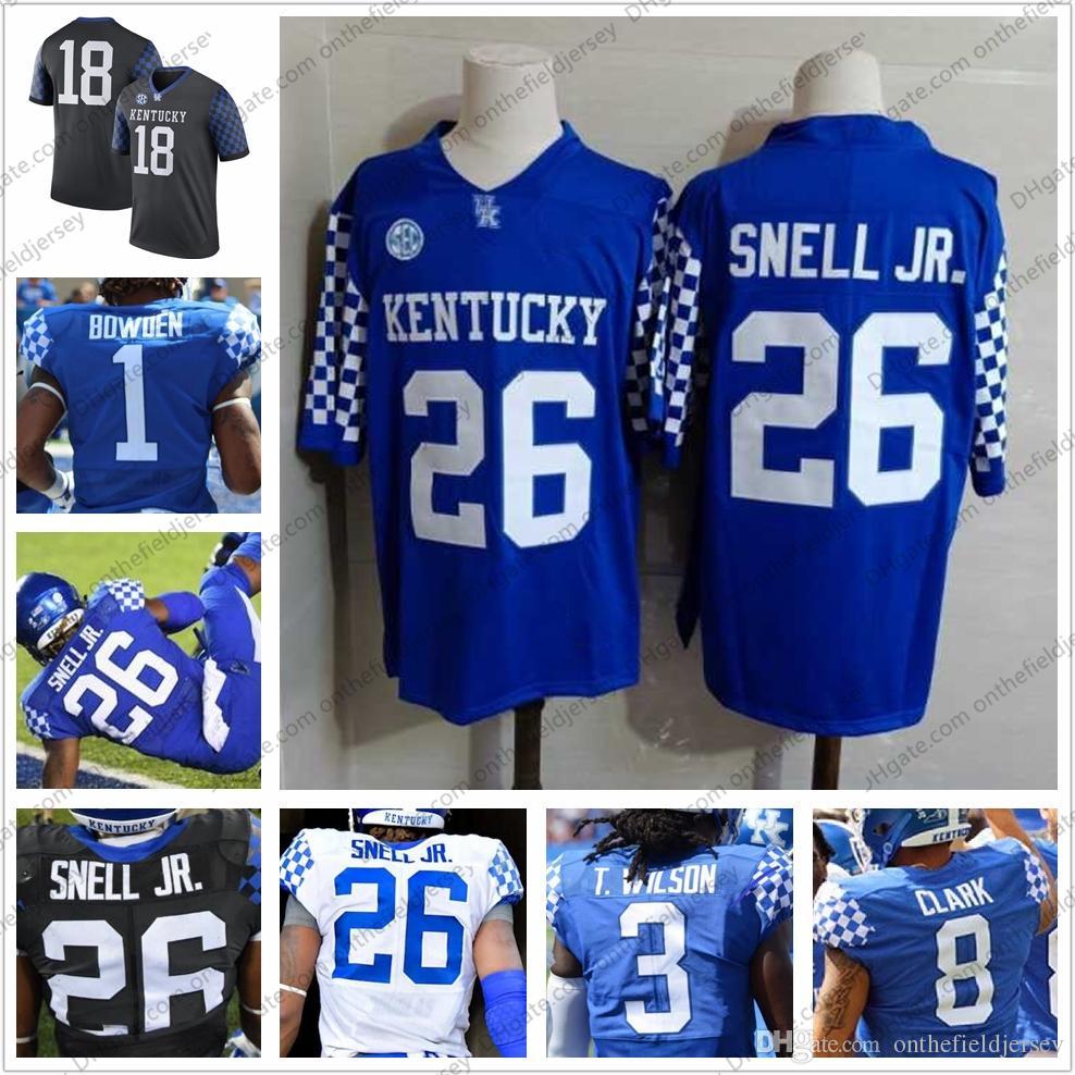 2020 Custom Kentucky Wildcats 2018 NCAA College Football ...