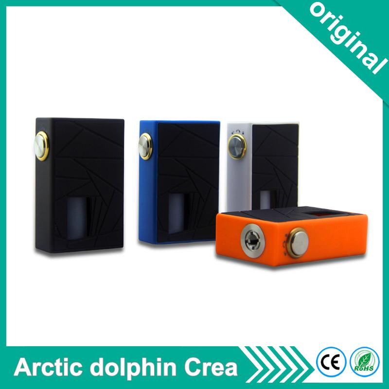 Original Arctic dolphin Crea Squonk BF Box mod New lock switch 510 thread  7ML silicone squeeze bottle electronic cigarette vape