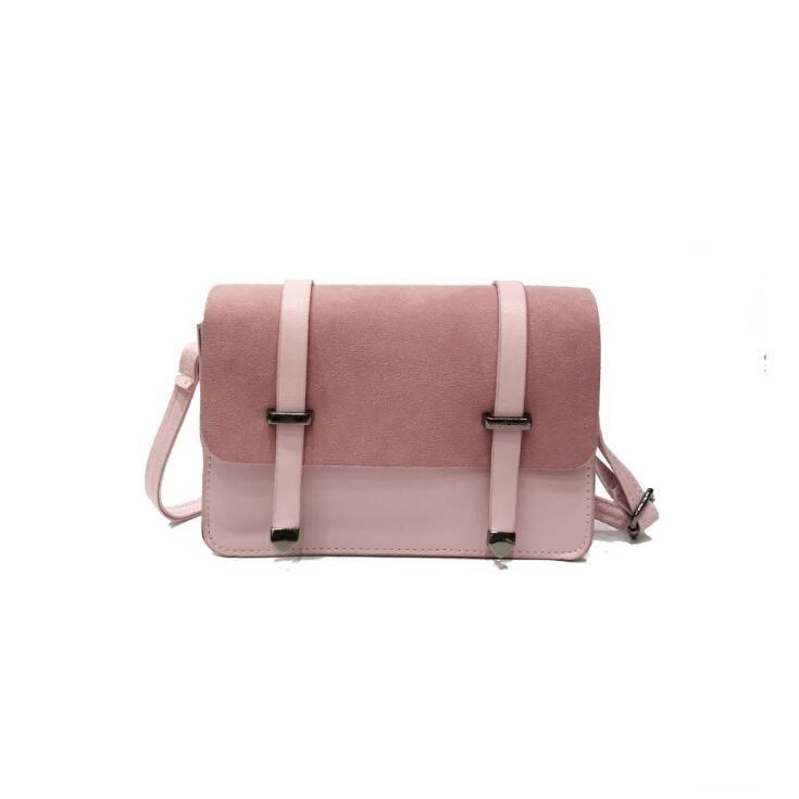 5df48fd5a0214 Women Small Square Flap Bag Fashion Women Messenger Crossbody Bags Brand  Design Sling Shoulder PU Leather Handbags Purses Handbags Purses From  Bags fashion