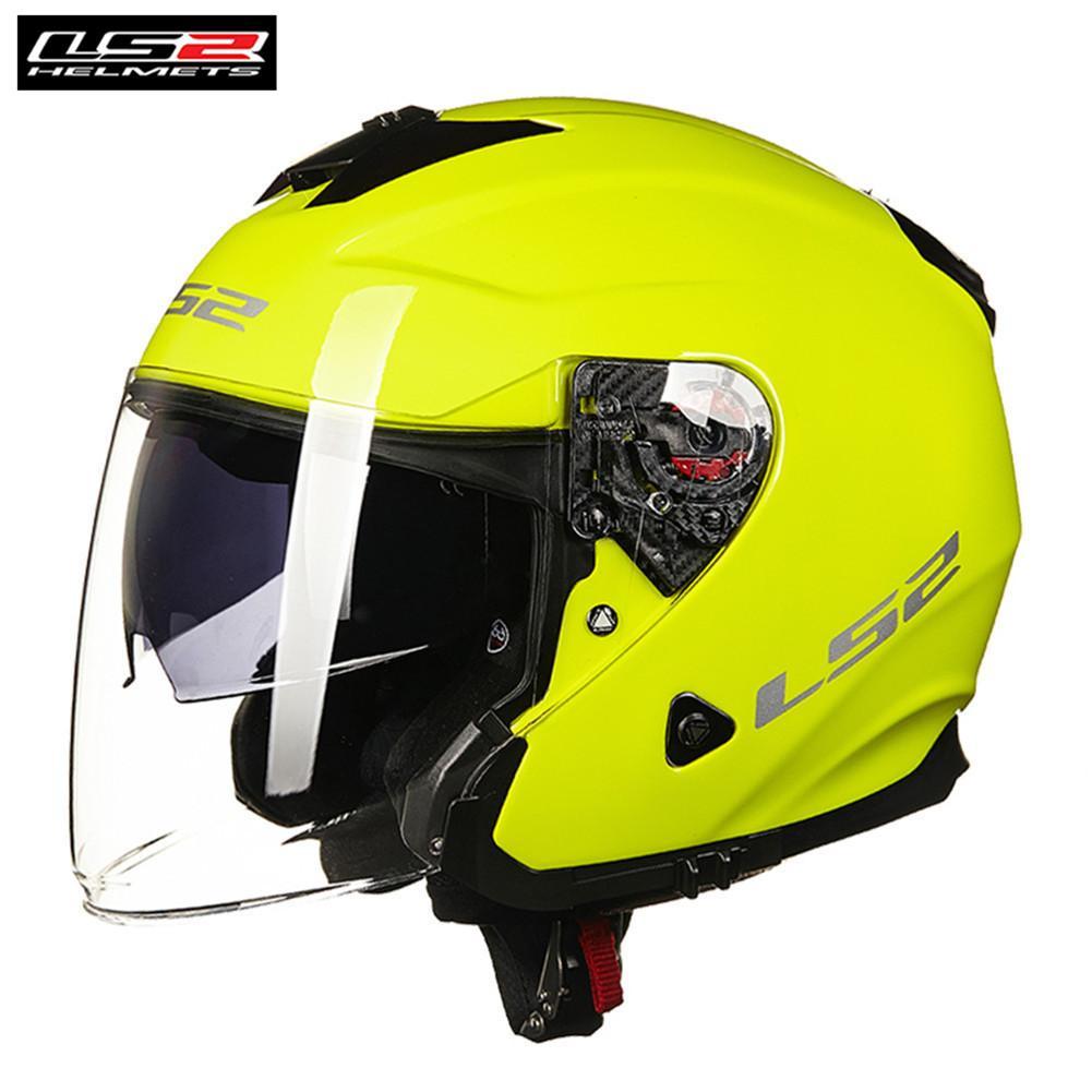 Ls2 Infinity Of521 Motorcycle Helmet Jet Scooter Open Face 34