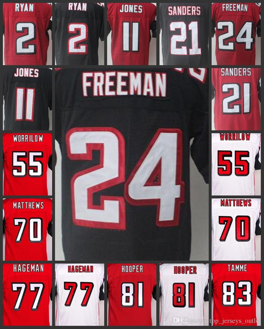 best service f01a6 bf7c8 womens limited austin hooper 81 atlanta falcons jersey