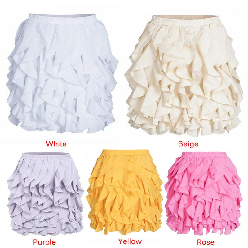 e05a5e34c6 Ruffle pleated mini skirt Summer casual sexy high waist fashion lolita  spring short skirt party club skirts womens 2018