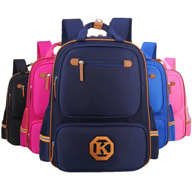 High Quality Durable Boys and girls School Bags Protection Spine Children's Orthopedic Backpack Reduce Pressure Children Bag