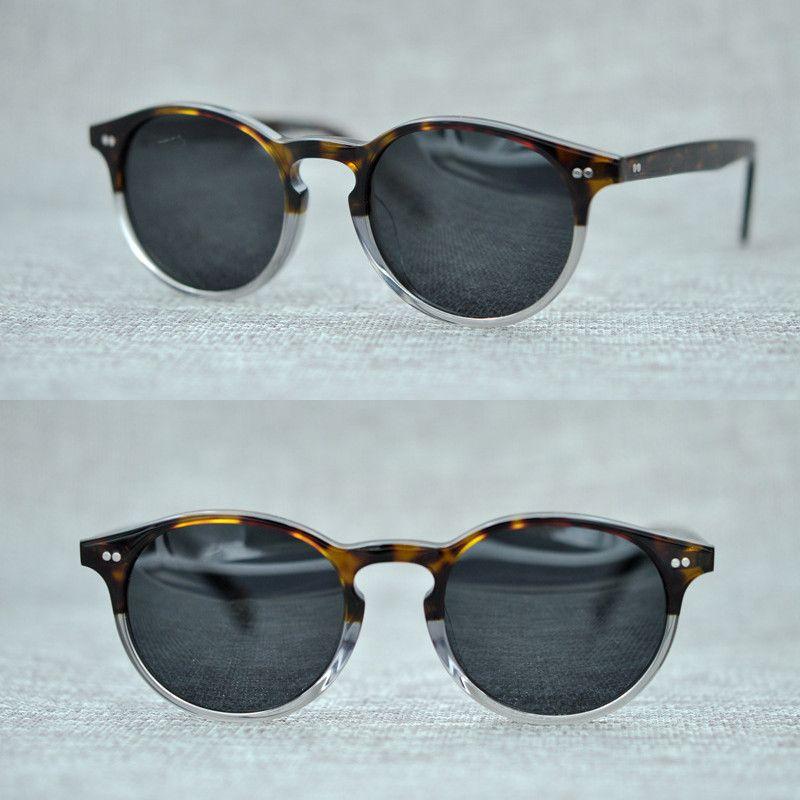 70a68469d2 El más nuevo Oliver Peoples Fashion gafas de sol redondas mujeres diseñador  de la marca gradiente de la vendimia sombras gafas de sol gafas de Sol  Feminino